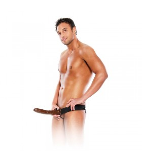 Fetish Fantasy Series Arnes Hueco 25 cm Color Chocolate
