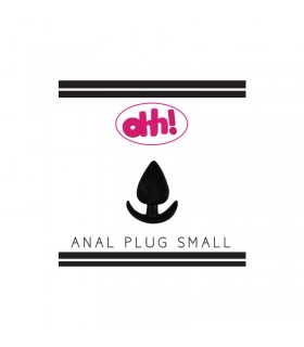 Plug Anal Pequeno Color Negro